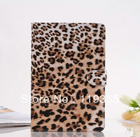 Superior Leopard Pattern Leather Stand Case for iPad Mini