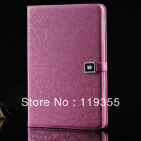 Amazing Diamond Pattern Leather Stand Protective Case for iPad Mini