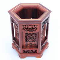 Mahogany crafts carved mahogany mahogany pen holder