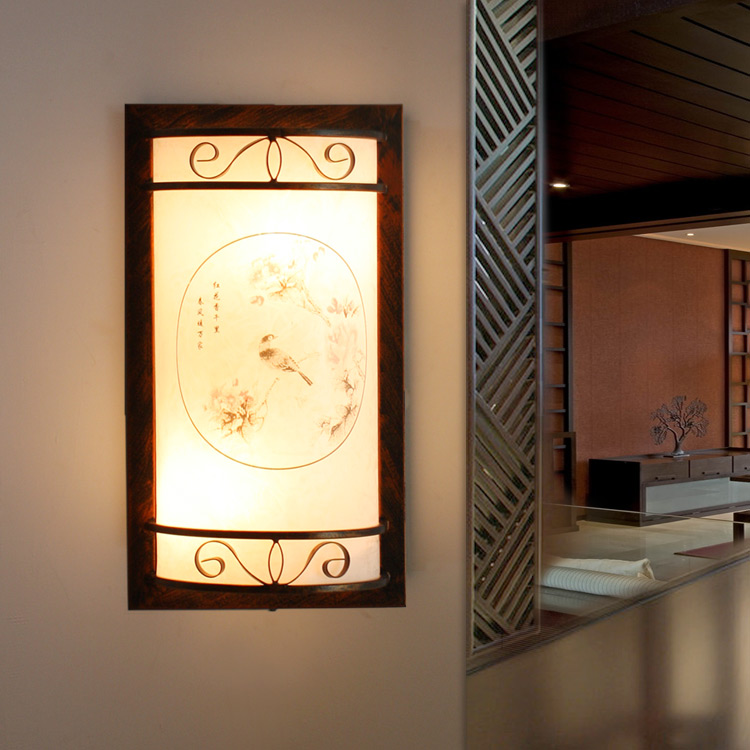 Chinese style classical vintage wall lamp entranceway wall lights stair lamp balcony lighting lamps(China (Mainland))