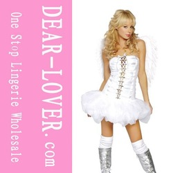 Free shipping 13 new arrivalAngel Wear, Sexy Angel Dress, Charming Girl Angel Costume LC8335+ Cheaper price + Free Shipping Cost(China (Mainland))