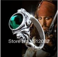 Pirates of the Caribbean Captain JACK SPARROW Skull RING  Size7-11 Free Shipping Gift Movie Jewerly Wholesale