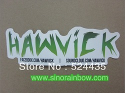 Customized Waterproof die cut vinyl sticker(China (Mainland))