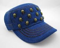 New arrival Fashion 100% cotton skull women cap woman baseball cap women cap Free shipping