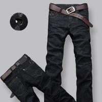 free shipping! Men male trousers slim jeans men's trousers