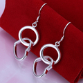 L-CE171 Fashion Jewelry Wholesale Hot sale Beautiful new 925silver Drop earrings 925 Sterling  for women free shipping