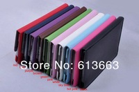 Wholesale Multicolor 360 Rotating PU Leather Case For ipad mini Smart Cover Stand with fashion design 100pcs/lot free shipping