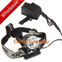 5pcs/lot SecurityIng Z7 1200 Lumen LED Bike Light Bicycle Lamp and 3 Mode Headlamp Headlight with Battery Pack/ Charger