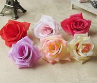 Rose roll-up hem rose bouquet diy brooch fashion hair accessory silk flower artificial flower decoration