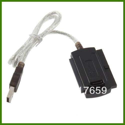 5.25 S-ATA/2.5/3.5 New USB 2.0 to IDE SATA Adapter Cable Dropshipping(China (Mainland))