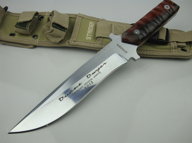 Free Shipping Strider ST Cavalry Tactical Straight Knife Fixed Blade Outdoor Hunting Camping Survival Knife Gift Knife Knives(China (Mainland))