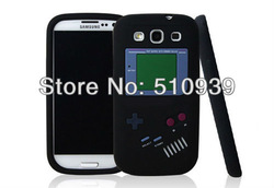 Free DropShipping 1pcs Soft Silicon Skin Cover Retro Design Game Player Boy Case Cover For Samsung Galaxy S3 SIII i9300(China (Mainland))