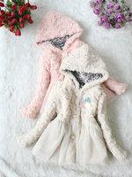 HOT SELL Free shipping  2013 New Arrival Stuff winter fur girls Coat,KIDS jacket/suit  3pcs/lot