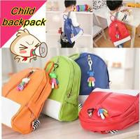 Cute Korean Children kids backpack Candy Schoolbag with Gloomy Bear strap