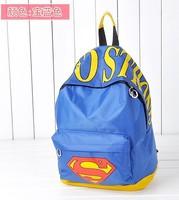 5 colors New superman backpack for children  travelling bag schoolbag