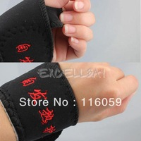 2 Pcs Magnetic Therapy Wrist Brace Support Protection Belt Spontaneous Heating