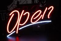 110V/220V Open bar pub neon light sign channel letter making LED light for advertising 4 colors 35*30cm