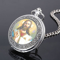 Free Shipping God Pocket Watch