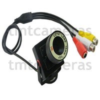 HD 700TVL 1/3 Inch Sony CCD Nextchip Mini FPV CCTV Security 16mm Lens Audio Color Camera Mic