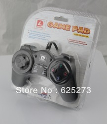FREE SHIPPING DILONG PU103 GAME CONTROLLER GAME PAD JOYSTICK COMPUTER PC GAMEPAD(China (Mainland))