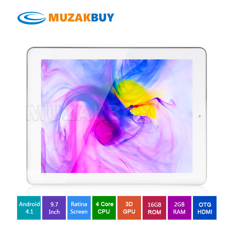 Cheap Onda V971 Quad Core PC Tablet Allwinner A31 Retina Screen 2048x1536 2GB RAM HDMI OTG(China (Mainland))