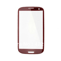 Free Shipping Front Screen Cover Glass Lens for Samsung i9300 Galaxy S III   5pcs/lot