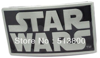 Black star wars belt buckle