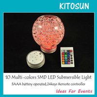28 Light up VASE BASE RGB Color Changing + Remote Control LED Party SUPPLIES Wedding Centerpiece