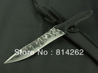 Hot!!!KikuMatsuda LM-006 Surviva Hunting High quality Camping stright knife Sharp Cusp High Quality Ultimate Army Free Shipping