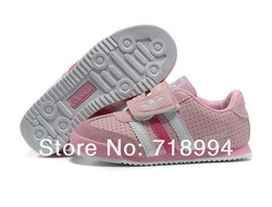 2013 Newest sell like hot cakes children/kids fashion leisure comfortable boys and girls sports shoes ,free shipping(China (Mainland))