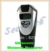 "Factory price! Durable Ultrasonic Distance Measurer, Area Volum Meter Laser Designator, 0.55 to 18.288m 1.1"" LCD Freeshipping"
