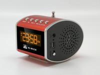 Freeshipping 1pcs Original Hi-RiCe SD-503 portable Mini Speaker with FM Campus radio  Big Sound+USB Speaker