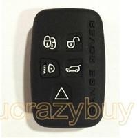 Black Silicone Cover Case Shell for Rover Range Rover Sport/Evoque remote Key