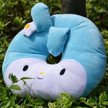 2013 new Melody nap pillow beautiful plush toy birthday gift fashion pillow car cushion free shipping