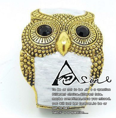 XYB013 Min. order is $5 2013 Newest Alloy Plating restoring Ancient Jewelry Mashups retro the Drip owl Bracelet Freeshiping(China (Mainland))