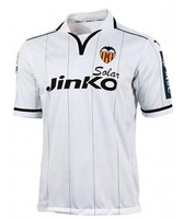 Soccer jerseys in 12-13 Valencia CF Home Soccer Jersey Shirt design!good quality!Only shirt,can print any name number.