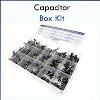 Free Shipping 18 value Capacitor Assortment Kit 500pcs Box of Kit