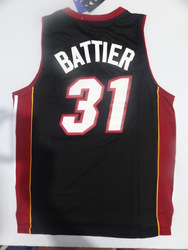 Free Shipping,wholsale famous Miami # 31 Battier jersey hot selling Revolution 30 Swingman New Material Basketball jersey(China (Mainland))