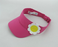 2013 spring and summer new arrival child hat female child visor cap sunbonnet
