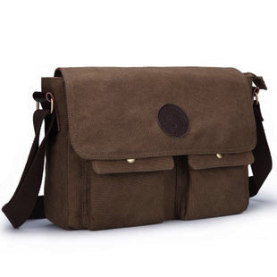 Capoc thickening canvas bag casual messenger bag man bag male commercial messenger bag