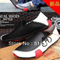 Sneakers for Men Casual Shoes Genuine Leather 2013 Driving Moccasins Slip On men's shoe Footwear Boat Shoes Loafers Men Shoes
