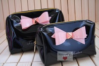 MG455 small size British fashion brand TED lovely bowknot makeup bag wash bag Drop Wholesale Free Shipping