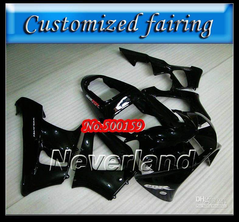 Customized fairing -Black street bike fairing kit FOR Honda / HONDA CBR900RR 929 2000 2001 CBR900 929RR CBR929 00 01 CBR929RR(China (Mainland))