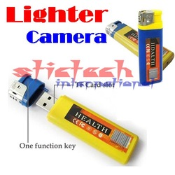 by dhl or ems 50 pieces Free Shipping 100% Brand New Mini DV Hidden Lighter Camera Cam Video Recorder(China (Mainland))