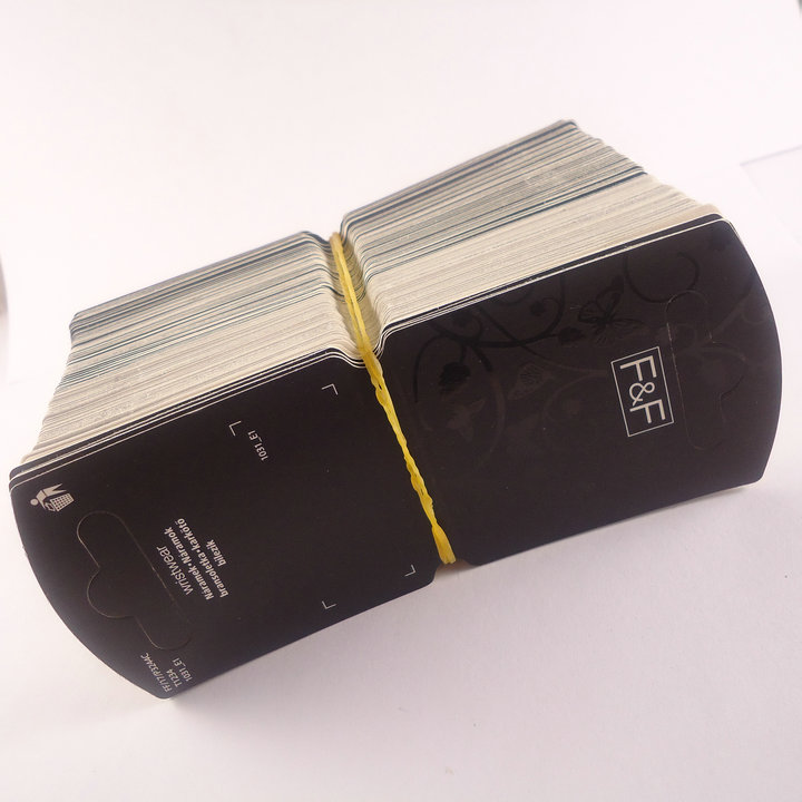 Card accessories diy packaging materials finaning 100 k05(China (Mainland))