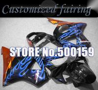 Customized fairing -blue flame body FOR Honda / Honda CBR900RR 954 2002 2003 CBR 954RR CBR954 RR CBR900 CBR954RR fairing kit RX2