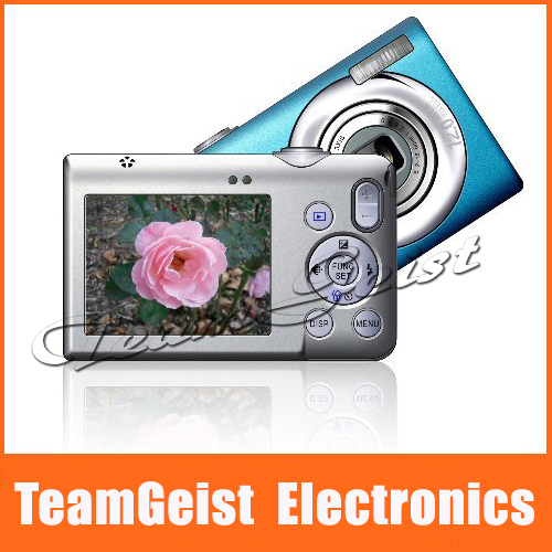 "2.7"" inch color TFT LCD Digital camera / Digital video camcorder 12 MP 8X digital zoom support Digttal Photo Frame Free Shipping(China (Mainland))"