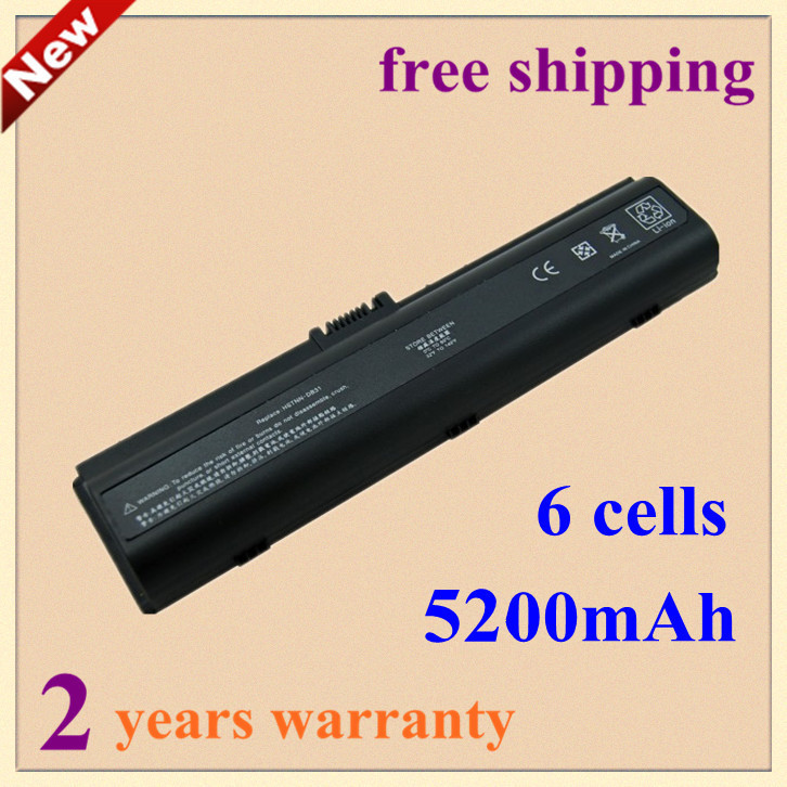 New 5200mAh Laptop battery for HP/Compaq Presario A900 C700 F500 F700 V3000 V3100 V3500 V3600 V6000 V6100 EX941AA HSTNN-LB31(China (Mainland))