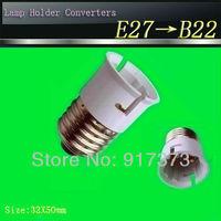 Lamp Holder Converter e27 Converter b22 35x50mm Discounting E27 to b22 lamp scoket,E27 base, b22 holder