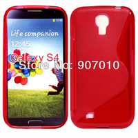 Wholesale - 30pcs Galaxy SIIII Anti-skid design tpu case, Nes S Line Soft TPU Case for Samsung Galaxy SIIII S4 i9500 5pcs